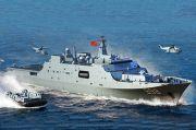 Bikin Panas, Militer China Latihan Pendaratan di Laut China Selatan
