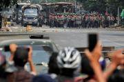 Lewat TikTok, Tentara Ancam Tembaki Demonstran Myanmar