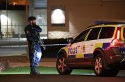 Teroris Bersenjata Kapak Serang 8 Orang di Swedia