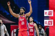 Hasil Pertandingan NBA, Kamis (4/3/2021): Sixers Menangi Duel Penguasa Wilayah