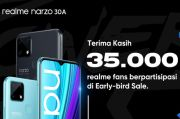 35.000 Fans Ikut Early-bird Sale, Siang Ini ada Flash Sale realme narzo 30A