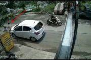 Viral, Video Mobil Tabrak Bocah Bersepeda di Cikarang