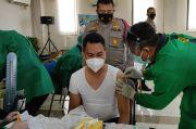 Polrestro Jakarta Utara Lakukan Vaksinasi COVID-19 Tahap Pertama