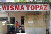 Gempar, Pria Tewas Bersimbah Darah Dibunuh Teman Wanitanya di Kamar Wisma
