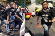 Ditembak Kepalanya, Demonstran Cantik Myanmar Ma Kyal Sin Dicap Pahlawan