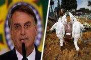 Brasil Catat Rekor Kematian COVID-19, Bolsonaro ke Warga: Berhenti Merengek!
