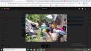 Personel Gabungan Bantu Bersihkan Rumah Warga yang Tertimpa Pohon di Sangihe