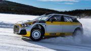 Audi Quattro A1 Rally Car Siap Gemparkan Ajang Balap Mobil Reli Dunia
