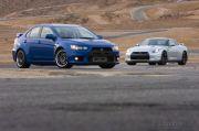 Satu Aliansi, Bisakah Mitsubishi Evolution dan Nissan GT-R Berkolaborasi?