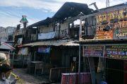 5 Kios di Samping Polsek Tanjung Priok Hangus Terbakar