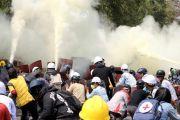 Tiga Demonstran Tewas di Myanmar, Kota Yangon Mencekam