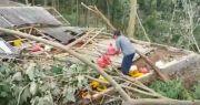 Belasan Rumah di Pasuruan Porak-poranda Diterjang Angin Puting Beliung