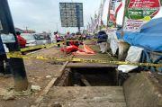 Geger, Pemegang Kartu Jamkesmas Tewas di Selokan Pasar Induk Cibitung