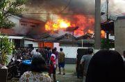 Oven Pemanggang Meledak, Pabrik Kerupuk di Bogor Terbakar