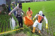 Geger, PSK Ditemukan Tewas di Saluran Air Persawahan Tasikmalaya