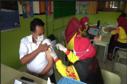 13 Ribu Guru Bangkalan Divaksin, Disdik Ingin Sekolah Kembali Normal