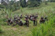 Hancurkan Pertahanan Lawan, Taruna AAL Korps Marinir Bertempur Habis-habisan di Malang Selatan