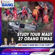 Study Tour Maut 27 Orang Tewas, Selengkapnya di iNews Siang Kamis Pukul 11.00 WIB