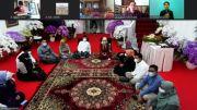 Berulang Tahun ke-78, Wapres Maruf Amin Potong Tumpeng Bersama Keluarga