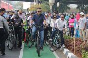 Anies: Jakarta Belajar Jalur Sepeda dari Tokyo, Paris, Brussel