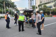Pesepeda Ditabrak Mobil Mercy di Bundaran HI, Korban Diduga Sempat Terlindas