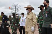 Gubernur Kalteng Dampingi Menhan Prabowo Subianto Tinjau Lokasi Pengembangan Food Estate Gunung Mas
