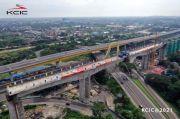 Kereta Cepat Jakarta-Bandung Selesaikan Struktur Tersulit di Bekasi