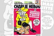 Charlie Hebdo Kembali Berulah, Rilis Kartun Ratu Cekik Leher Meghan Markle
