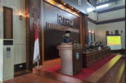 Rapat Paripurna DPRD, Bupati Bangka Barat Sampaikan LKPJ tahun 2020