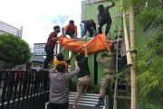 Tersengat Listrik, Buruh Bangunan Kota Bitung Tewas Jatuh di Lantai 2