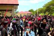 Mapolres Konawe Diserbu Ratusan Warga Adat Tolaki, Massa Tuntut Pembebasan 9 Tahanan