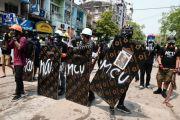 Enam Demonstran Myanmar Tewas, AS Janji Pulihkan Demokrasi