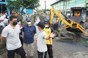 Weekend, Bobby Turun Normalisasi Sungai dan Drainase Kota Medan