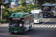 Pemerintah Bakal Paksa Semua Bus Umum Bertenaga Listrik di 2045