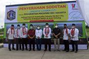 PT Mitra Sindo Sukses Serahkan Sodetan JGC ke Pemprov DKI untuk Antisipasi Banjir