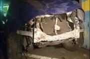 Akibat Sopir Mengantuk, 2 Mobil Bertabrakan di Tol Gempol-Pandaan