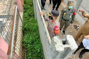 Sebelum Dibongkar Paksa, Pemilik Pagar Beton di Ciledug Diminta Bongkar Sendiri