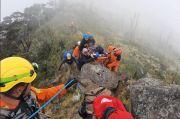 Dramatis Evakuasi Pendaki Jatuh di Jurang Gunung Lompobattang