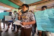 Sejumlah Aset Desa Diduga Digelapkan, Warga OKI Geruduk Kantor Kades
