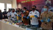 Polres Jakut Ringkus Sindikat Pembuat Buku Nikah Palsu Jaringan Jakarta - Subang