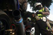 Razia Knalpot Bising, Polrestro Depok Tilang Pengendara Motor
