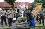 363 Knalpot Bising di Kota Bogor Dipotong-Potong Polisi