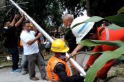 PJUTS Konsisten Terangi Desa Sukamaju Bogor