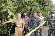 Wakil Bupati Pangkep Tinjau Akses Jalan Trans Sulawesi di Tondong