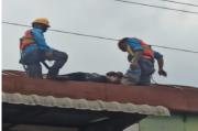 Nahas, Tukang Cat Tewas Tersengat Listrik di Atap Gudang
