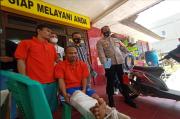 Polsek Sako Tembak Dua Pelaku Curas Uang Renovasi Masjid, Pelaku Tetangga Sendiri
