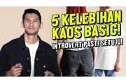 Contek Gaya Party Model Tampan Jryan Karsten dengan Kaus Polos
