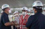 Menteri Perhubungan Kunjungi Proyek Bandara Sultan Hasanuddun