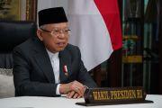 Maruf Amin: Diperlukan Ikhtiar Ruhaniah untuk Menghadapi Pandemi Corona