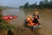 Tenggelam di Sungai Citarum, Tubuh Pencari Udang hingga Kini Belum Ditemukan